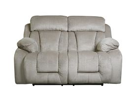 Двухместный диван Stricklin с реклаинером - Pebble
