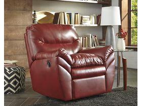 Кресло из экокожи Tassler с реклаинером