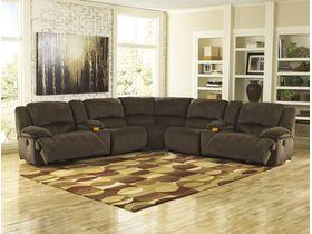 Угловой модульный диван Toletta с реклаинером