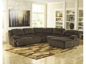 Угловой диван Toletta с реклаинером (Композиция 2)