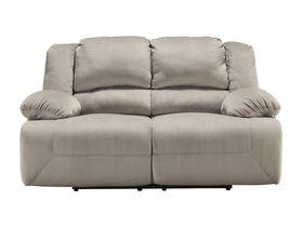 Двухместный диван Toletta с реклаинером - Granite