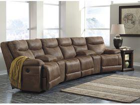 Четырехместный диван Valto с реклаинером