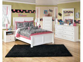 """Спальня белая из древесины твердых пород """"Bostwick Shoals"""""""
