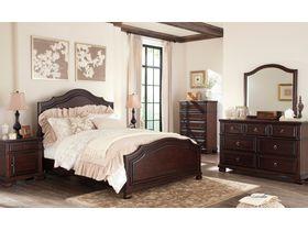 """Спальня из древесины лиственных пород в классическом дизайне  """"Brulind"""""""