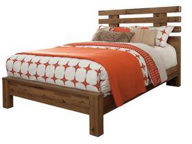 """Кровать двуспальная из шпона дуба  """"Cinrey"""""""
