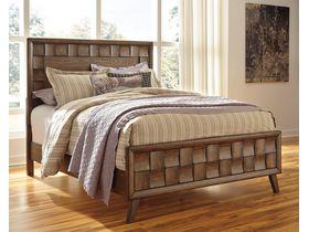 """Кровать двуспальная из шпона белого дуба  """"Debeaux"""""""