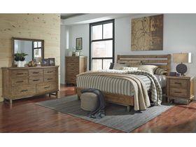 """Кровать в современном дизайне из массива """"Dondie"""""""
