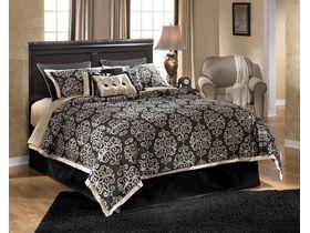 """Кровать двуспальная в классическом стиле из шпона красного дерева """"Esmarelda"""""""