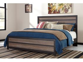 """Кровать двуспальная из шпона дуба в современном дизайне """"Harlinton"""""""