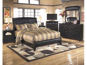 """Спальня в темных тонах в оригинальном дизайне """"Harmony"""""""