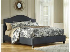 """Кровать  в серой цветовой гамме  """"Kasidon"""""""