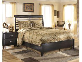 """Кровать двуспальная в темном цвете из отборного шпона """"Kira"""""""