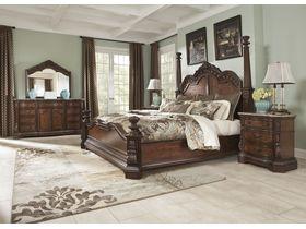 """Кровать в винтажном стиле """"Ledelle"""""""