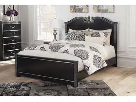 """Кровать двуспальная  в черной цветовой гамме """"Navoni"""""""