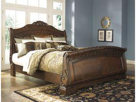 """Кровать """"North Shore"""" с низким изножьем в традиционном стиле"""
