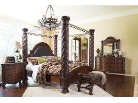 """Кровать в традиционном стиле из шпона  """"North Shore"""""""