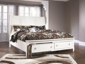 """Кровать в классическом стиле c ящиками """"Prentice"""" из шпона"""