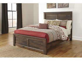 """Кровать двуспальная из шпона дуба """"Quinden"""""""