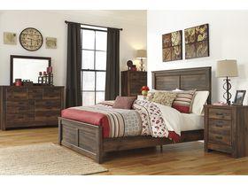 """Спальня из шпона дуба в древесных тонах """"Quinden"""""""