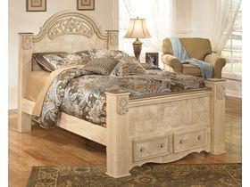 """Кровать """"Saveaha"""" с ящиками из шпона клена"""