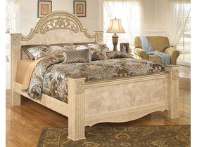 """Кровать с декоративными ножками из шпона клена """"Saveaha"""""""