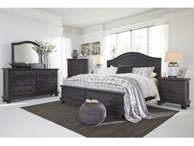 """Спальня из массива сосны в классическом дизайне """"Sharlowe"""""""