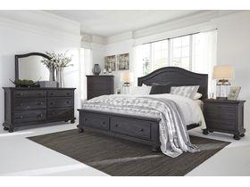 """Кровать из массива сосны в классическом дизайне """"Sharlowe"""""""