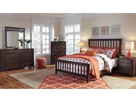 """Спальня из шпона дуба  в строгом стиле  """"Strenton"""""""