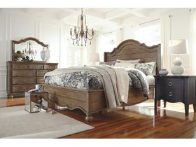 """Кровать в винтажном стиле """"Tanshire"""""""