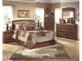 """Кровать двуспальная из шпона вишни """"Timberline"""""""