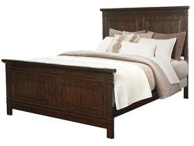 """Кровать в строгом дизайне из древесины твердых лиственных пород """"Timbol"""""""