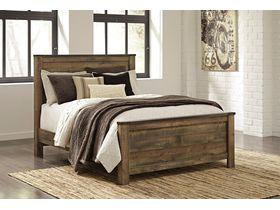 """Кровать двуспальная из шпона дуба в  стиле кантри """"Trinell"""""""
