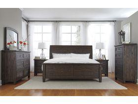 """Спальня из массива сосны в строгом стиле """"Trudell"""""""