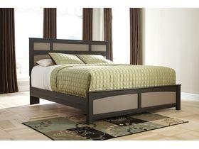 """Кровать двуспальная из шпона дуба """"Wellatown"""""""