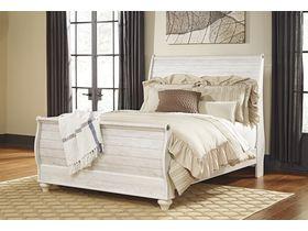 """Кровать двуспальная из древесины лиственных пород в необычном дизайне """"Willowton"""""""
