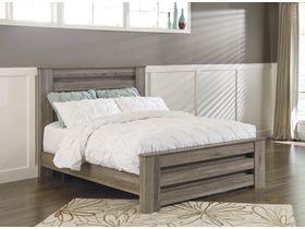 """Кровать двуспальная из шпона дуба в классическом дизайне """"Zelen"""""""