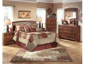 """Спальня в светлых тонах в строгом стиле  из шпона вишни""""Timberline"""""""