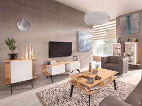 Современный светлый набор мебели в гостиную комнату Antonio