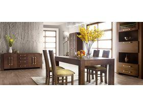 Современный темный набор мебели в гостиную комнату Tris