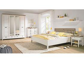 """Набор белой мебели в спальню """"Саргас"""""""