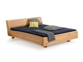 """Кровать с изголовьем """"Balena"""" из массива бука"""