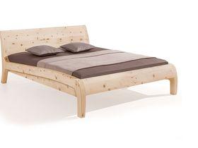 """Кровать """"Beluga"""" из необработанного массива сосны"""