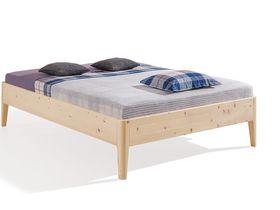"""Кровать без изголовья """"Kalmera"""" из сосны"""