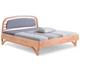 """Элегантная кровать с мягким изголовьем """"Liv"""""""