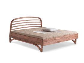 """Экологичная кровать из массива ореха """"Liv"""""""
