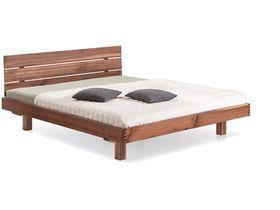 """Современная кровать из массива ореха """"Plain"""""""