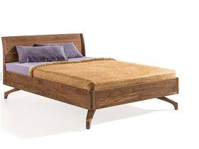 """Кровать из ореха с изголовьем """"Rigo"""""""