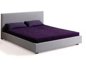 """Кровать из массива бука с изголовьем """"Aura"""""""