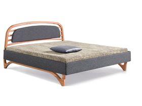 """Современная кровать с мягким изголовьем """"Liv Letto"""""""