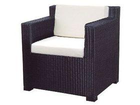 Кресло из искусственного ротанга для сада Garda